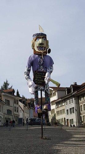 Grand Rababou du Carnaval des Bolzes 2017 à Fribourg