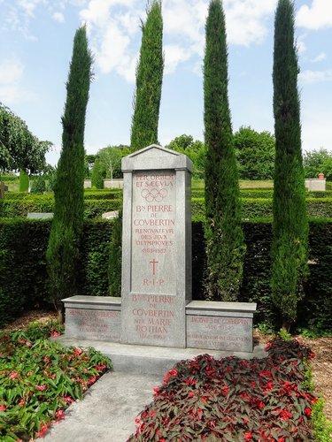 Lausanne - Tombe de Pierre de Coubertin