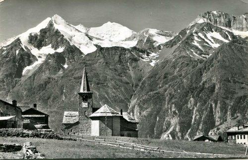 Grächen, son église