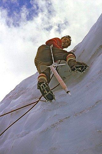Cours d'escalade de glace