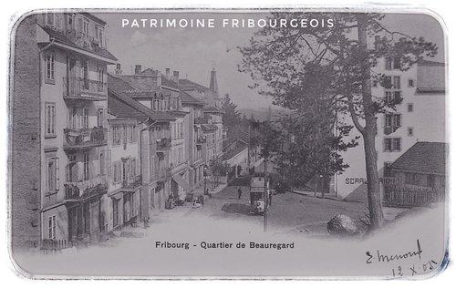 Fribourg - Quartier de Beauregard