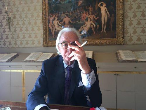 Marc Bonnant retrouve l'évadé Licio Gelli en Italie