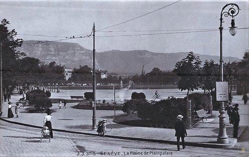 Genève La Plaine de Plainpalais