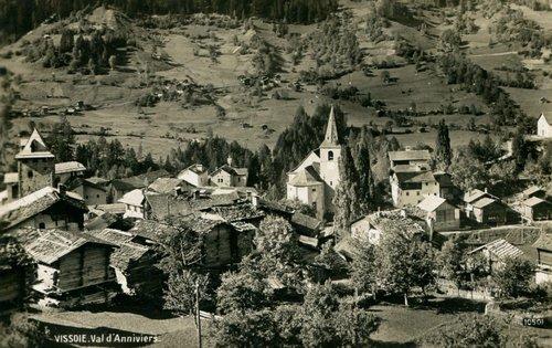 Le village de Vissoie