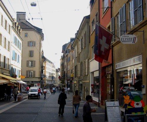 Neuchâtel Rue du Seyon