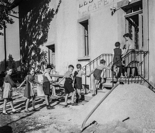 Les Grandes Roches colonie de vacances de Morges de 1944 à 2018