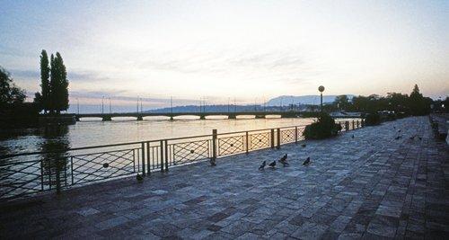 Genève, le jour se lève