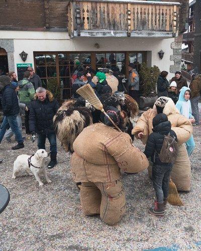 Le carnaval à Evolène