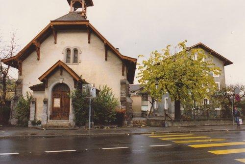Chavannes-près-Renens | Chapelle de la Gare
