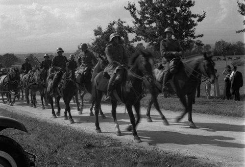 Manoeuvres du 1er Corps d'Armée 1937