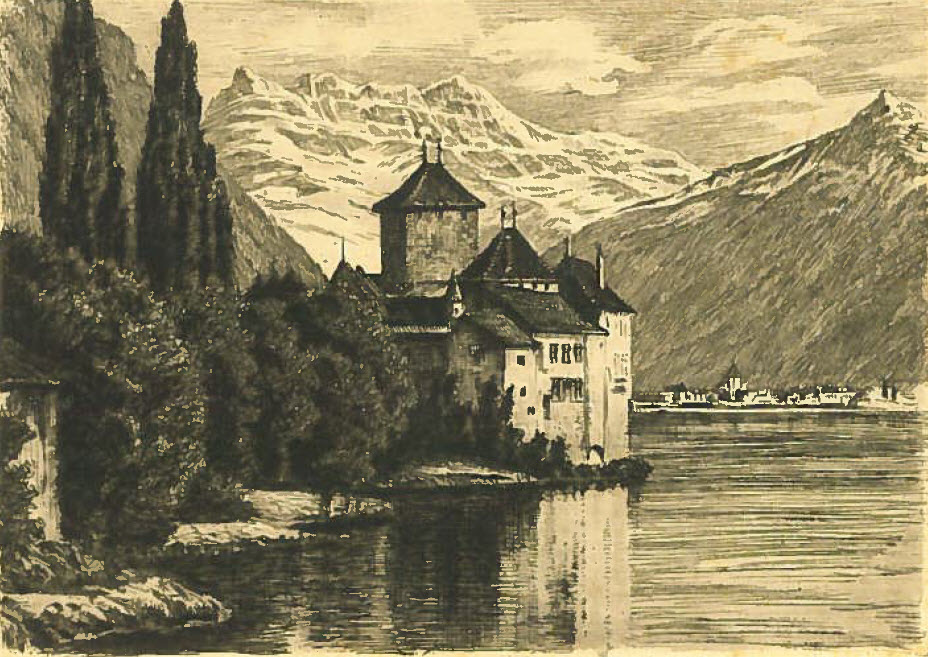 Eau-forte de Chillon