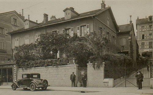 Lausanne maison Meystre