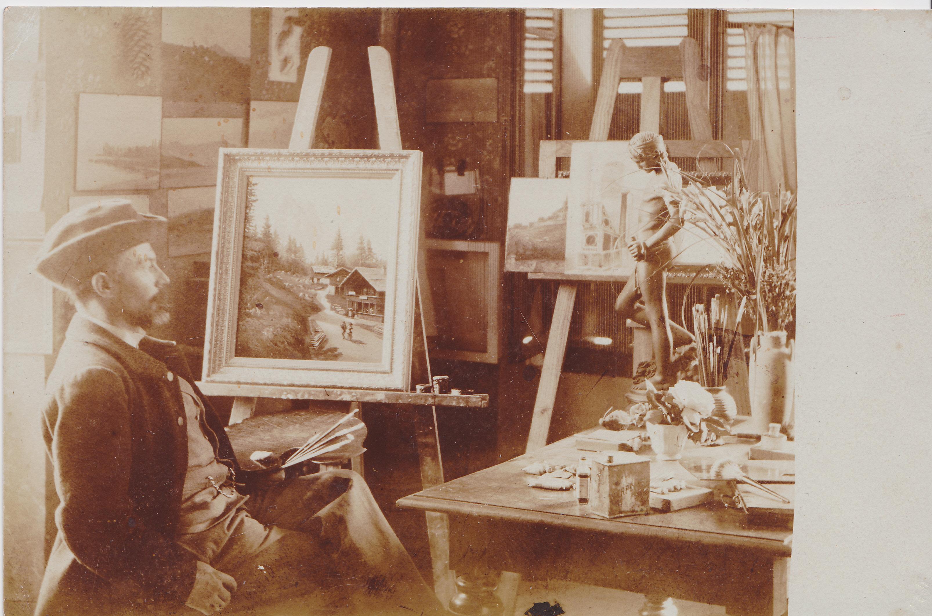 L'atelier du peintre ?