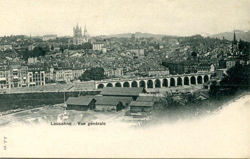 Lausanne, le Grand-Pont
