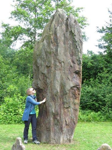 Statues-menhirs néolithiques de Clendy