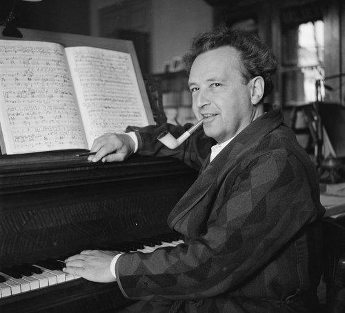 Arthur Honegger en 1949