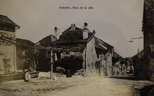 Aubonne, haut de la ville