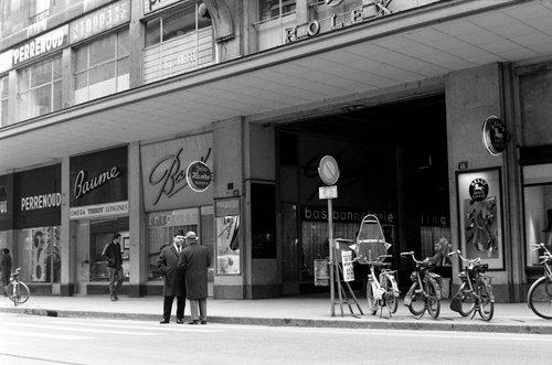 Genève, le Passage du Terraillet