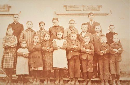 Ecole de Chandolin vers 1927