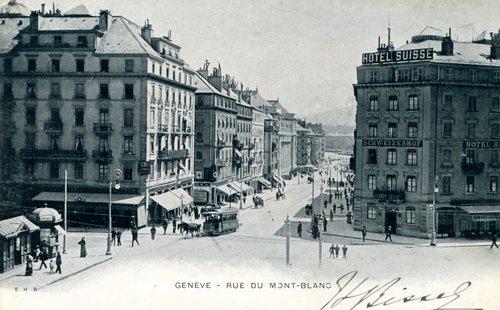 Genève, Hôtel Suisse