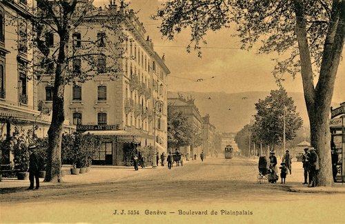 Boulevard de Plainpalais