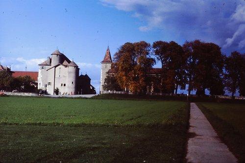 Compesières Commanderie et église Saint-Sylvestre