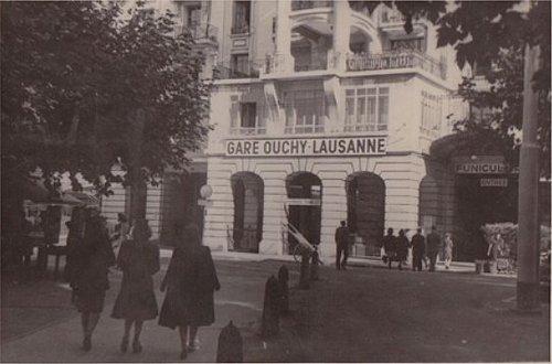 Lausanne Ouchy la gare