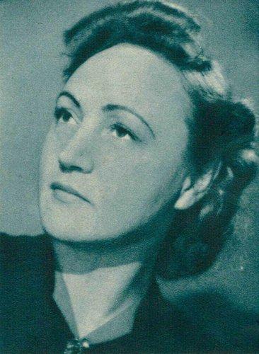 Flore WEND, env. 1946