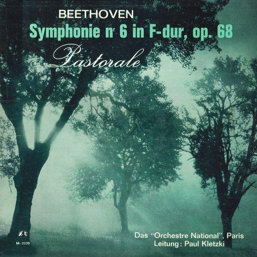 L.van BEETHOVEN, Symphonie No 6, ONRDF, Paul KLETZKI, MMS 2239, MONO, Recto de la pochette du disque