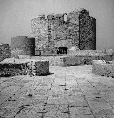 Cour des prisonniers au Château d'If
