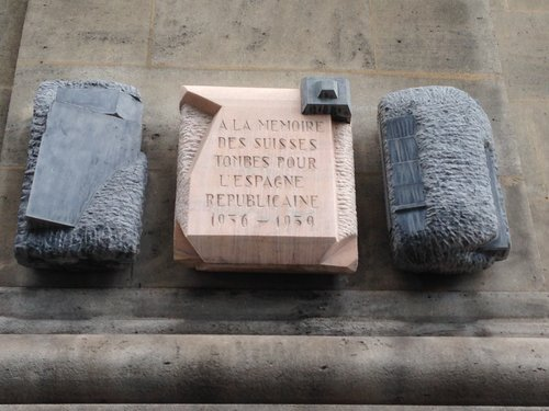 Monument à la mémoire des combattants républicains
