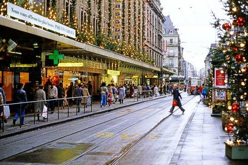 Genève, le Grand-Passage