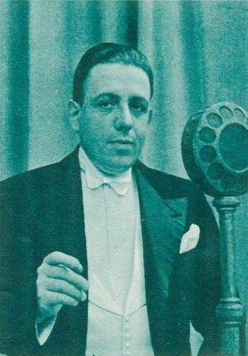 Francis POULENC à Radio-Lausanne / Radio-Genève, 1935