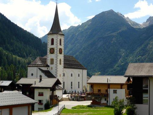 Le village de Kippel, Lötschental