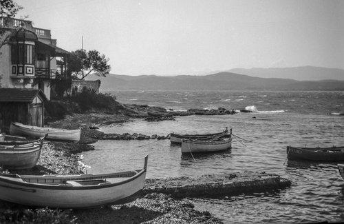 Barques de pêcheurs au Port de l'Olivette