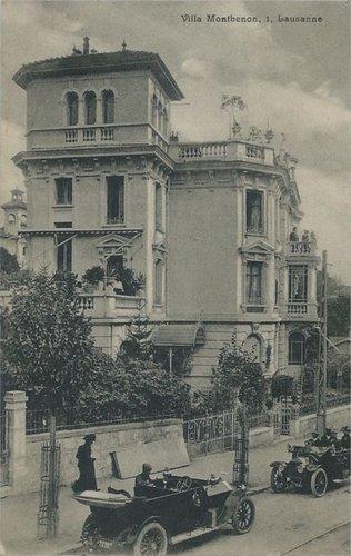 Lausanne villa Montbenon