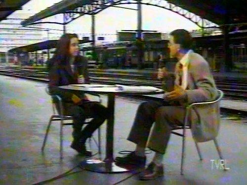 """TVRL 1997 """"Tel est ce soir"""" Gare de Lausanne"""