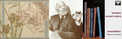 Carl Maria von WEBER, Ouverture d'Abu Hassan, OSR, Ernest ANSERMET, 1966 et 1958