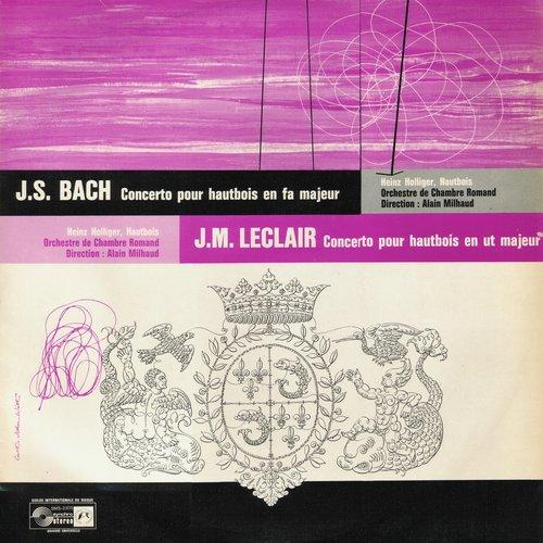 J.M. LECLAIR, Concerto pour hautbois en ut majeur, Heinz HOLLIGER, OCR (EIR), Alain MILHAUD, 1960