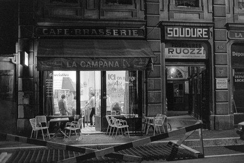 Genève, Café - Brasserie La Campana