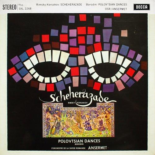 N. RIMSKI-KORSAKOW, Shéhérazade, Lorand FENYVES, violon-solo, OSR, Ernest ANSERMET, 1960, Victoria Hall, Genève