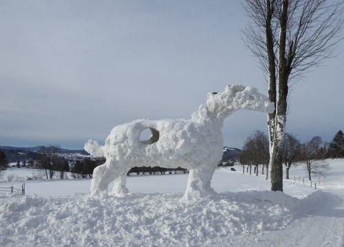 Sculpture de neige_729