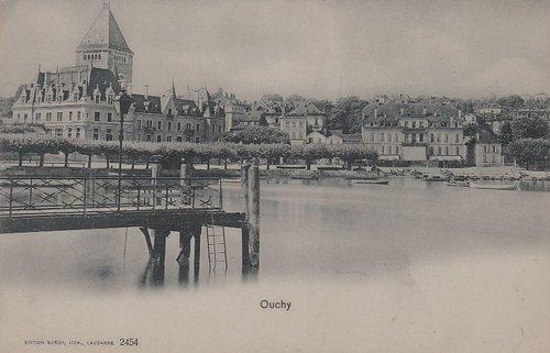 Lausanne Ouchy le débarcadère