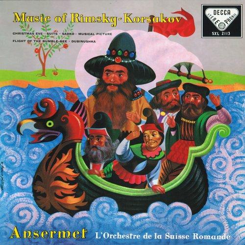N.RIMSKI-KORSAKOW, Suite de l'opéra «La nuit de Noël», OSR, Ernest ANSERMET, SXL 2113