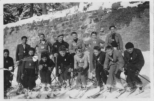 Ski club de St-Luc 1941-1942 bis