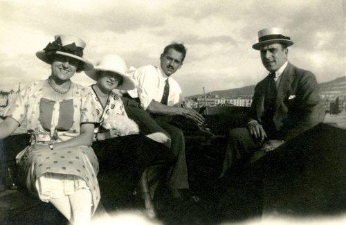 Genève, en bateau dans la rade