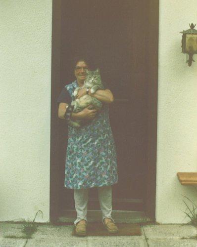 Ma maman au Col du Lein
