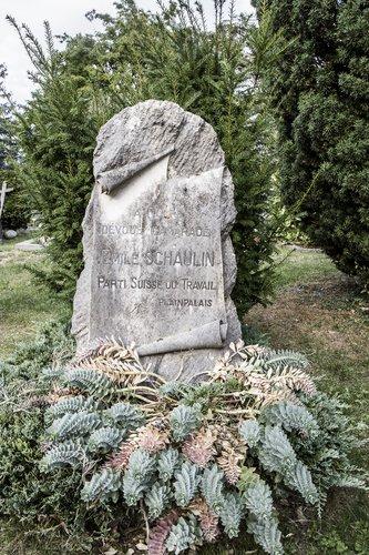 Tombe d'Emile Schaulin