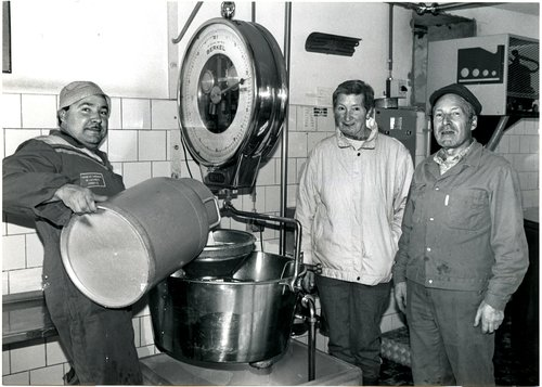 Dernière livraison de lait à Chêne-Pâquier  VD