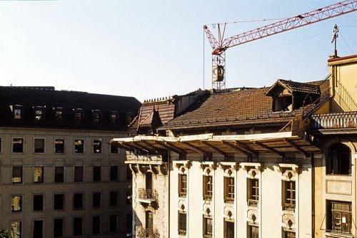 Genève, démolition de l'Uniprix